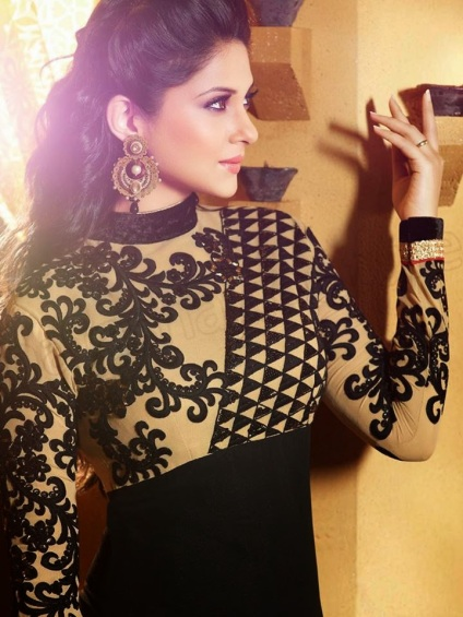 Natasha-Couture-Party-Wear-Suits-2015--Jennifer-Winget's-Glam-Outfits-3